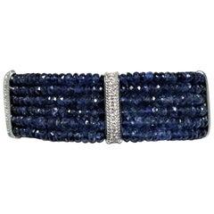 Sapphire Bead Bracelet
