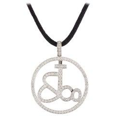 Jacob & Co Signature Diamond Pendant