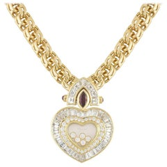 Large Chopard Happy Diamonds Heart Pendant