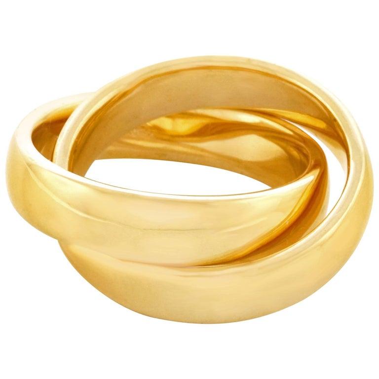 Gubelin Rolling Ring, Gold