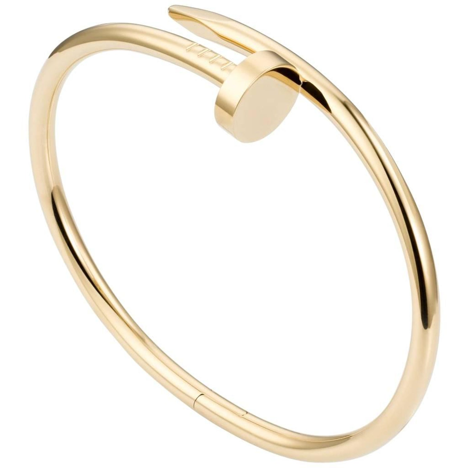 nail stud cubic bracelet head open in bangle end gold bracelets