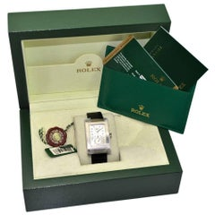 Rolex White Gold Cellini Prince Manual Wind Watch New in the Box