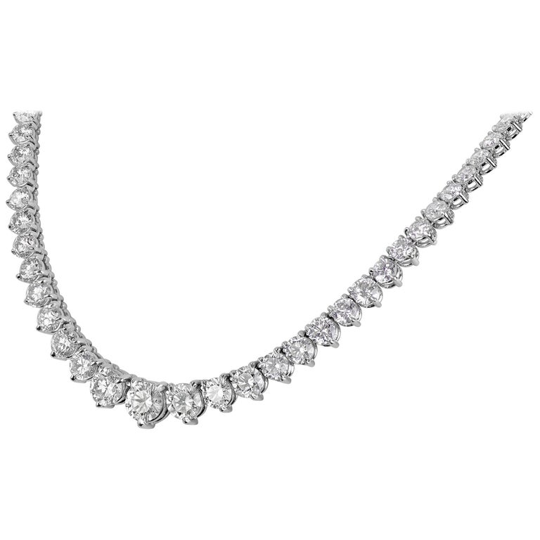 graduated co tiffany ty necklace jazz and diamond products platinum