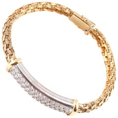 """Greg Ruth"" 1.70 Carat Diamond Bracelet"