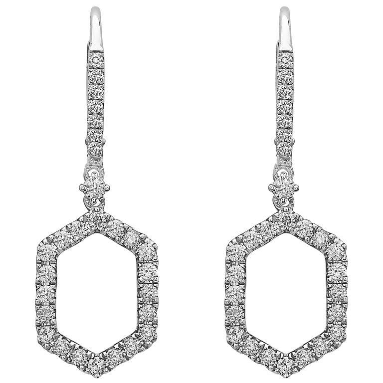 Emilio Jewelry Everyday Diamond Earrings For