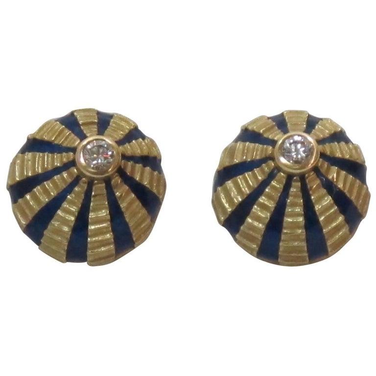 Schlumberger for Tiffany & Co. Taj Mahal Earrings