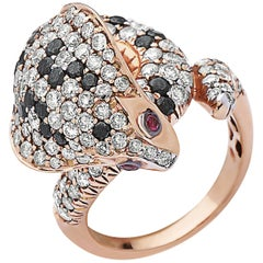 Emilio Jewelry Ruby Cobra Fashion Ring