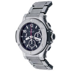 Hublot Stainless Steel Big Bang Chronograph Automatic Wristwatch