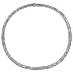 Emilio Jewelry 8.10 Carat Diamond Necklace