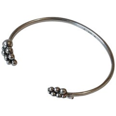Georg Jensen Moonlight Grapes Bangle, Sterling Silver
