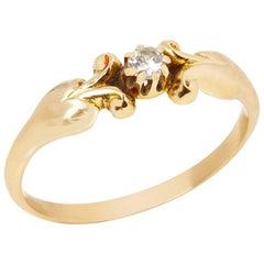 Georg Jensen Diamond Vintage Ring