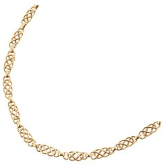 Georg Jensen Vintage Chain Necklace