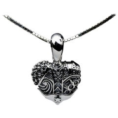 Lagos Heart of Texas Sterling Silver Pendant Necklace