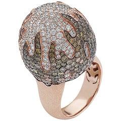 Emilio Jewelry Ball of Fire Diamond Ring