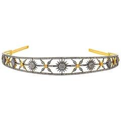 Diamond Star and Sun Head Band