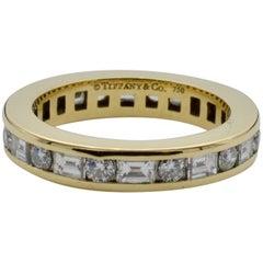 Tiffany & Co. Yellow Gold Diamond Eternity Band