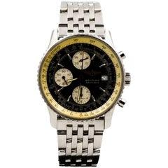 Breitling Stainless Steel Navitimer Self-Winding Wristwatch