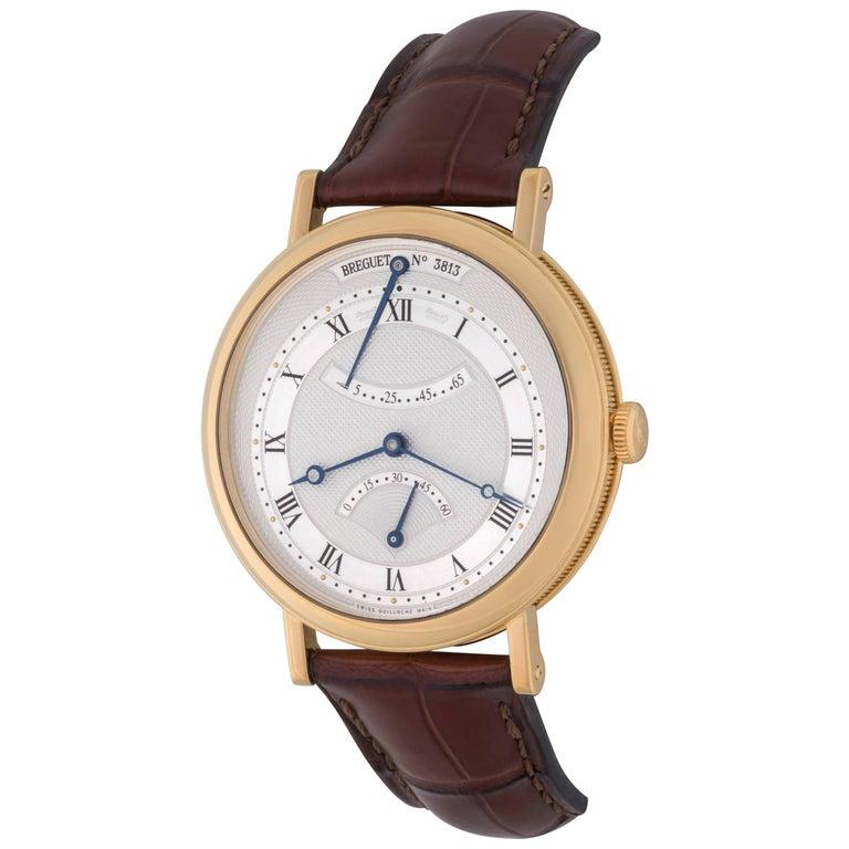 Breguet Yellow Gold Classique Power Reserve Automatic Wristwatch