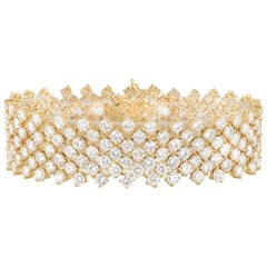Stunning Diamond Bracelet 26.52 carats