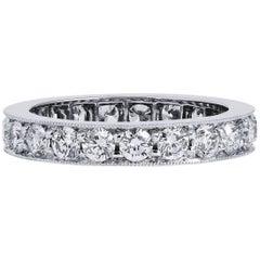 H & H 1.70 Carat Diamond Band Ring