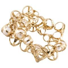 DiModolo Pearl Diamond Bracelet