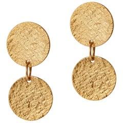 Arcade Earrings in Gold by Allison Bryan
