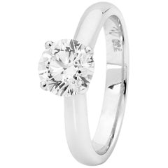 Matthew Ely Diamond Solitaire Engagement Ring