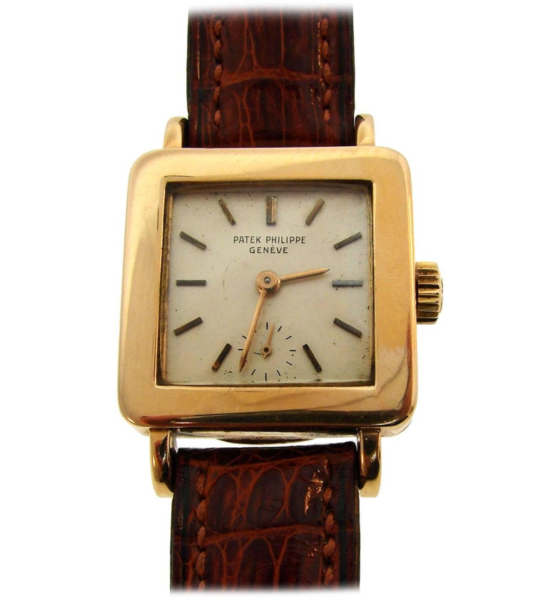 Patek Philippe Yellow Gold Manual Wind Wristwatch