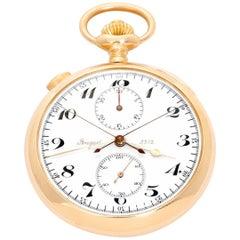 Breguet 18K Yellow Gold Pocket WatchBreguet 18K Yellow Gold Split Second