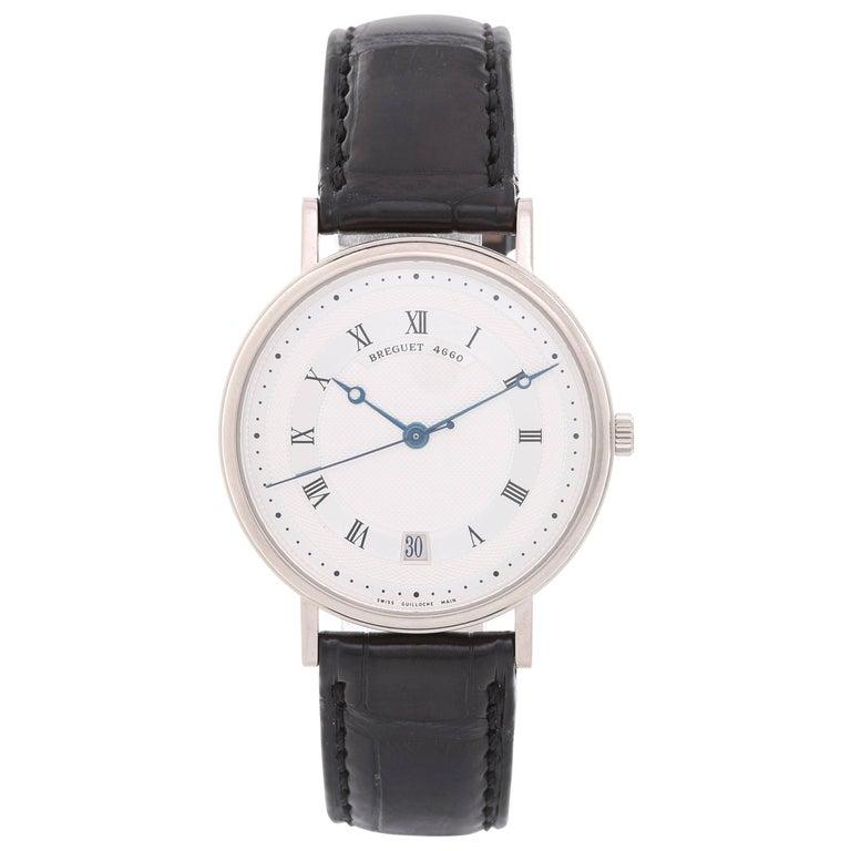 Breguet White gold Classique Automatic Wristwatch Ref 5930 BB