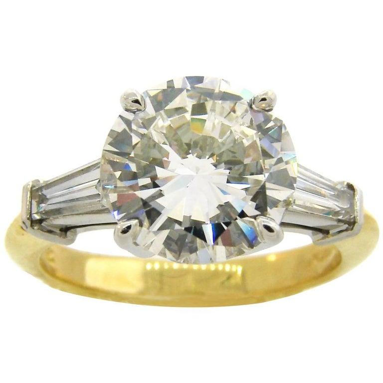 Tiffany & Co. 3.04 Carat GIA H/VS1 Diamond Ring