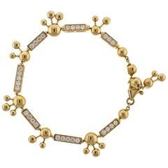 Bulgari Astrale Diamond Yellow Gold Bracelet