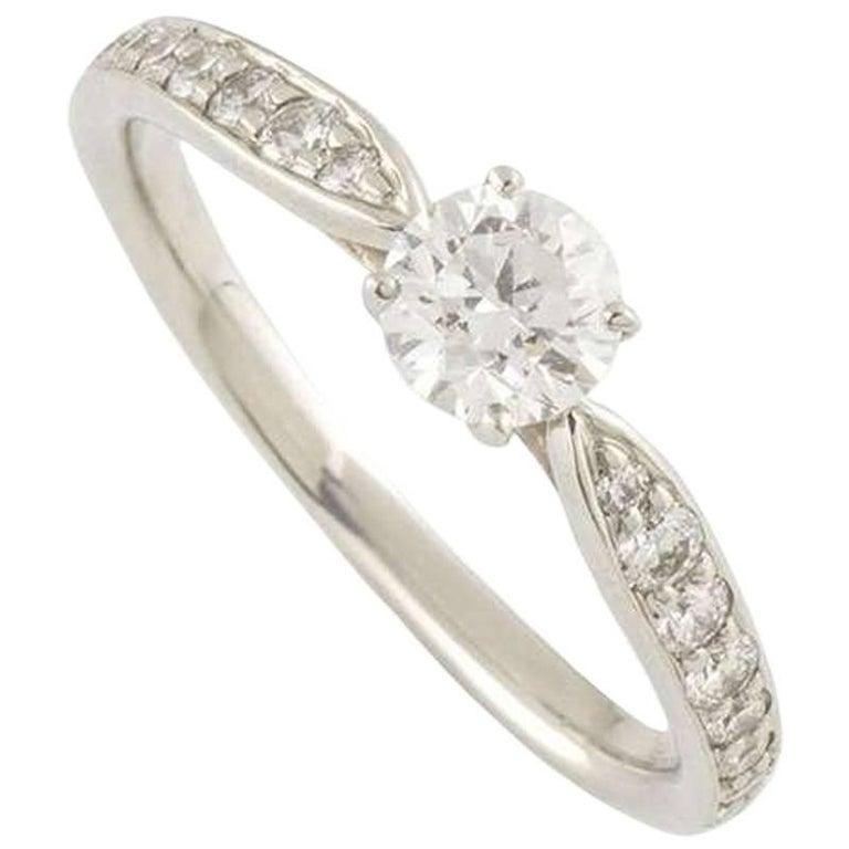 Tiffany Harmony Diamond Ring 0.32ct