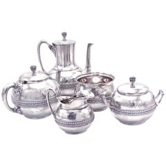 Tiffany & Co. Five-Piece Coffee and Tea Set