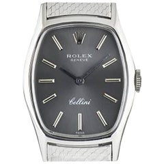 Rolex Ladies White Gold Cellini Manual Wind Wristwatch Ref 3803