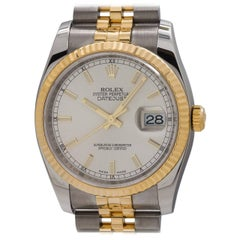 Rolex Yellow Gold Stainless Steel Datejust Wristwatch Ref 116233, circa 2010