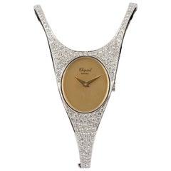 Chopard Yellow and White Gold White Diamond Wristwatch, circa 1990