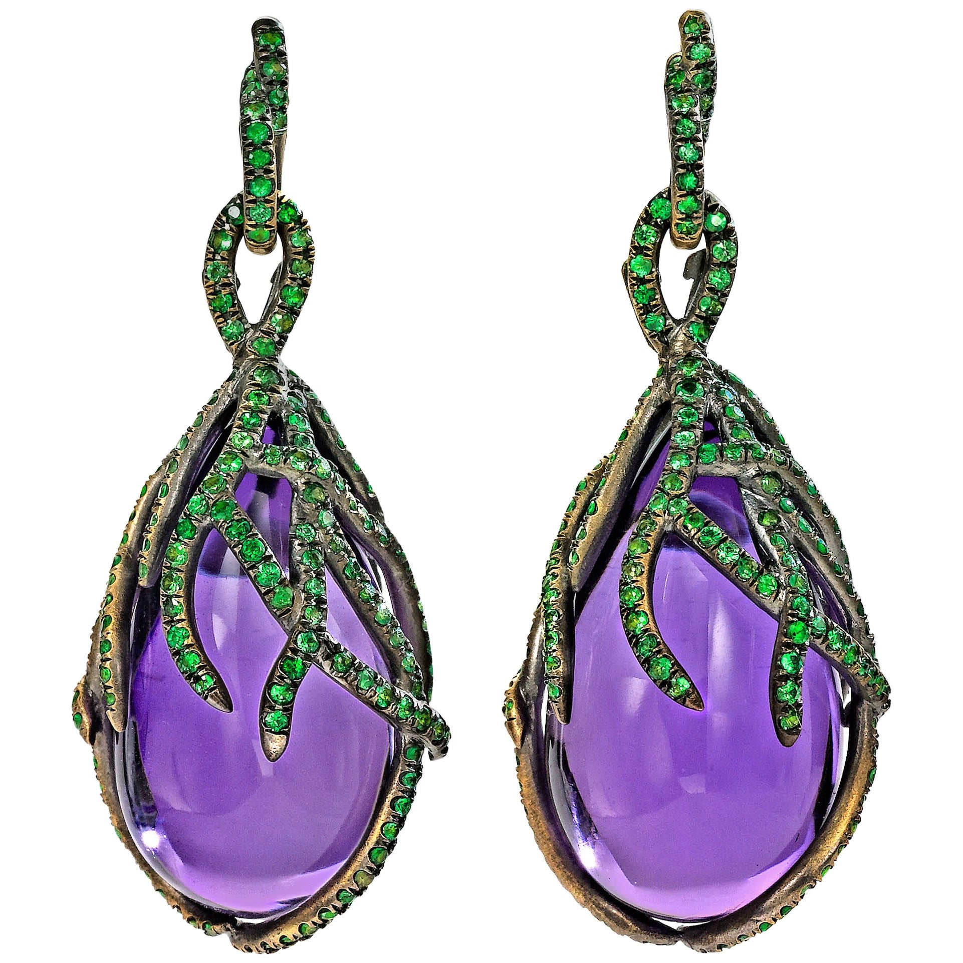 Wendy Brandes Signed Marie Antoinette Collection Earrings