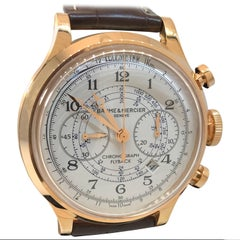 Baume and Mercier Rose Gold Capeland Flyback automatic Wristwatch