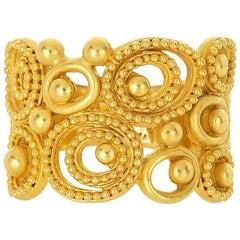 Carolyn Tyler Dune Gold Ring