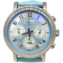 Chopard Stainless steel Mille Miglia Elton John Chronograph Wristwatch
