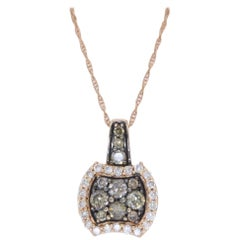 Le Vian Rose Gold and Diamond Necklace