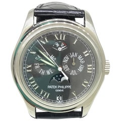 Patek Phillipe Platinum Annual Calendar Moonphase Complication Men's Watch 5056P