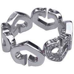 Cartier Symbol Hearts and Symbols Ring