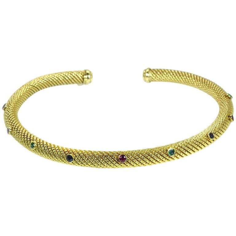 David Yurman Gemset Collar