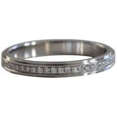 Cartier Platinum Full Diamond Eternity Ring