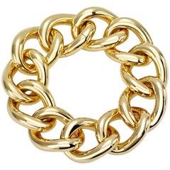 Classic Groumette Bracelet 18 Karat Yellow Gold