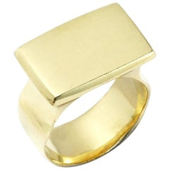 Darrell Signet Ring in 18 Karat Gold