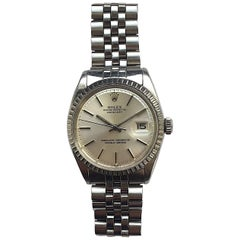 Rolex Stainless Steel Oyster Perpetual Datejust Automatic Wristwatch, 1960s