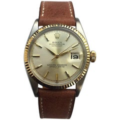 Rolex Yellow Gold and Stainless Steel Oyster Perpetual Datejust Automatic Watch